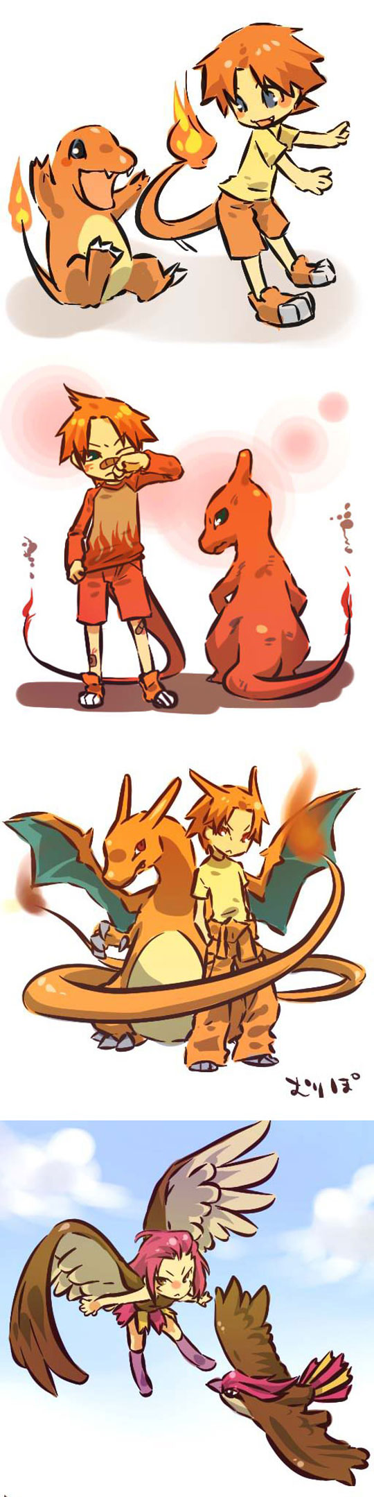 cool-human-Pokemon-drawings