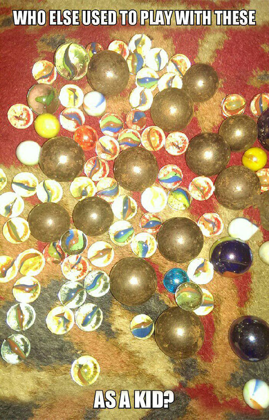 My Father And I Used To Spend Hours Playing With These