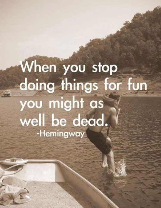 Just Keep Having Fun