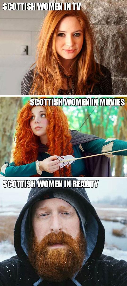 cute-Scottish-woman-TV-movies-beard