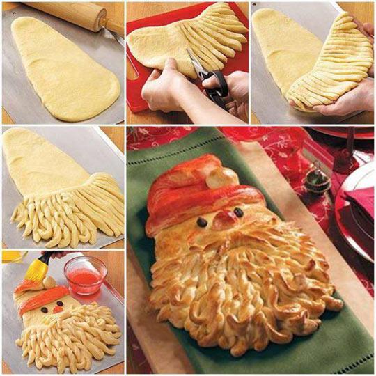 funny-Christmas-Santa-bread