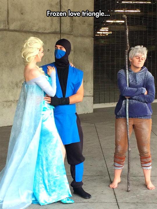 funny-Frozen-love-triangle-Sub-Zero-Jack-Frost