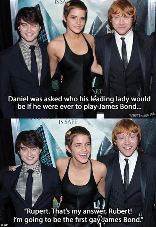 If Daniel Radcliffe Played James Bond