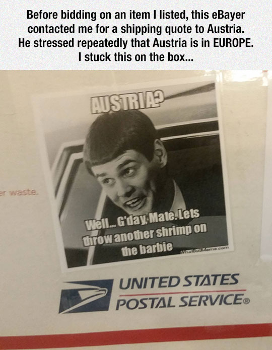 A Common Post Office Mistake