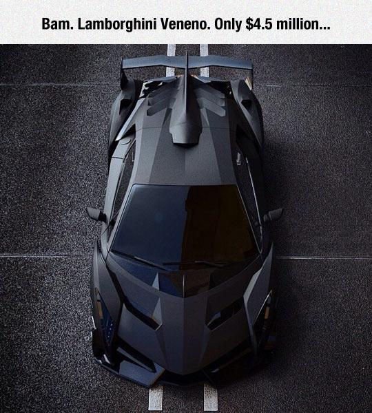 Darkest Car In The World
