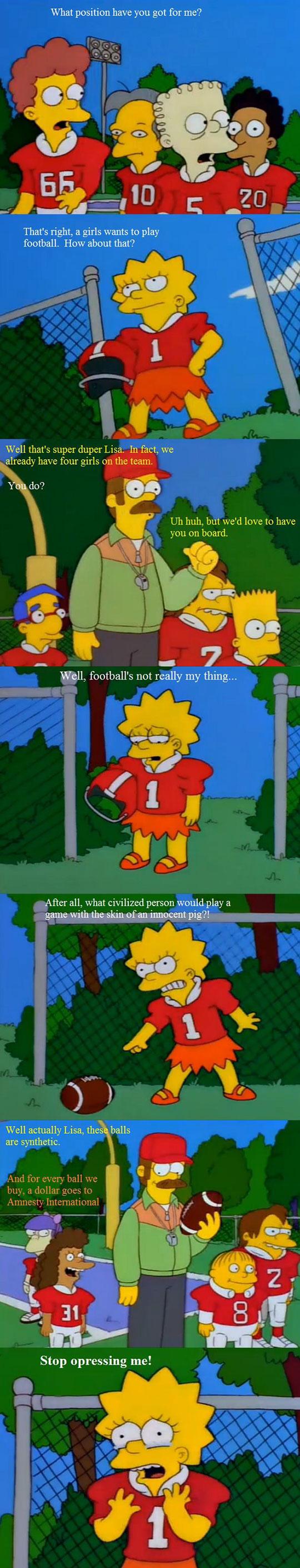 funny-Lisa-Simpson-football-girl-oppressed