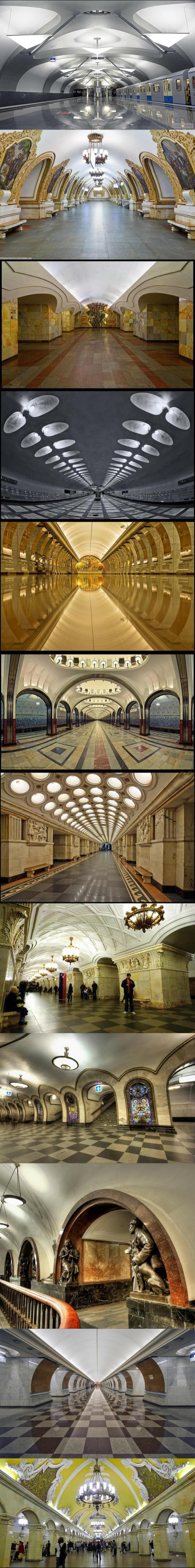 Moscow Metro Stations
