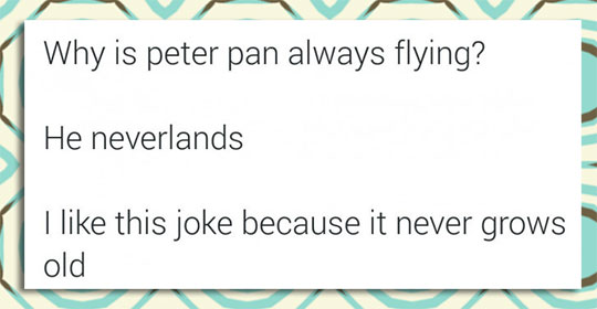 Poor Peter Pan