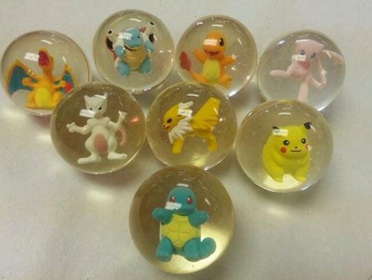 Crazy Bouncy Pokémons