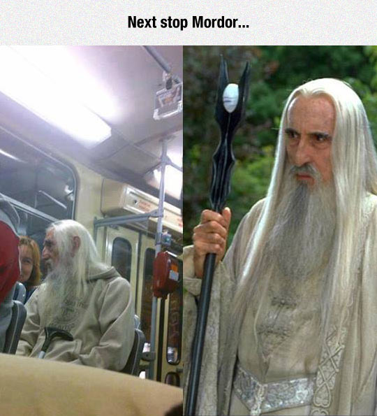 Saruman Is Running A Very Low Budget