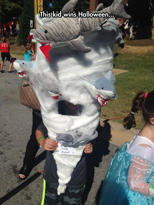 Sharknado Costume For Halloween