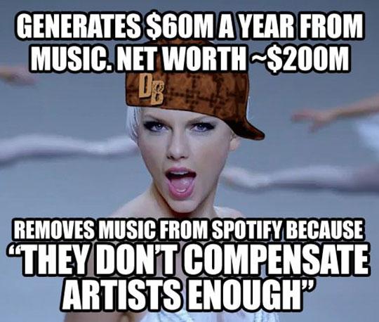 Scumbag Taylor Swift