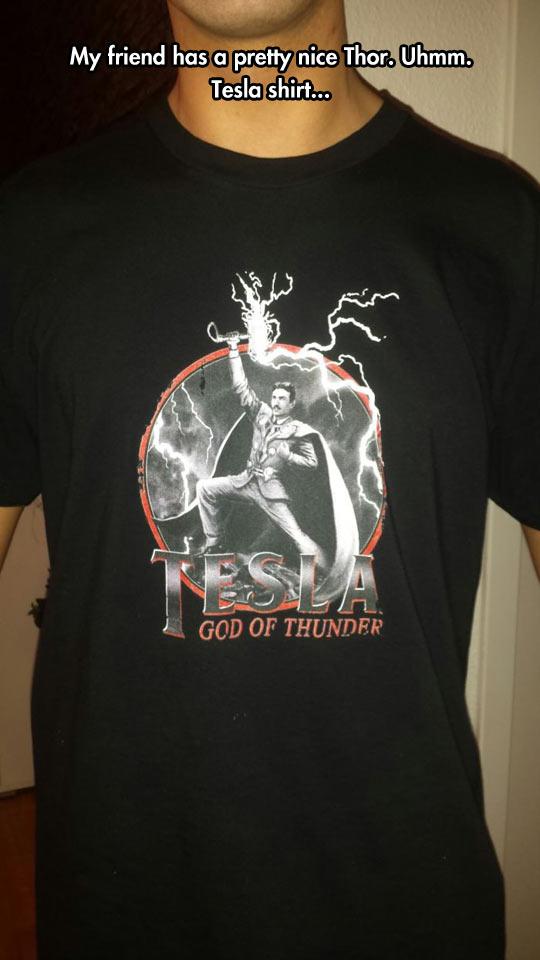Tesla, God of Thunder