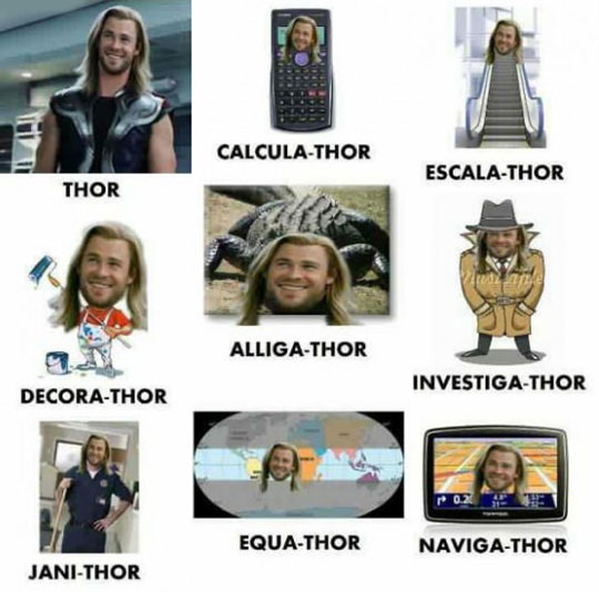 Thor And His Different Versions