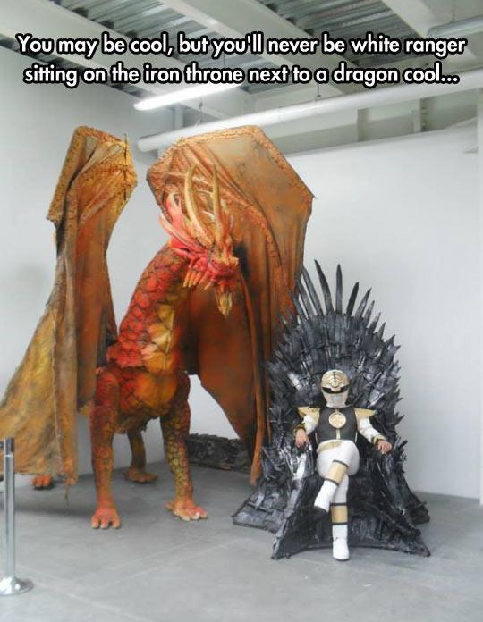 funny-White-Ranger-throne-sword-dragon