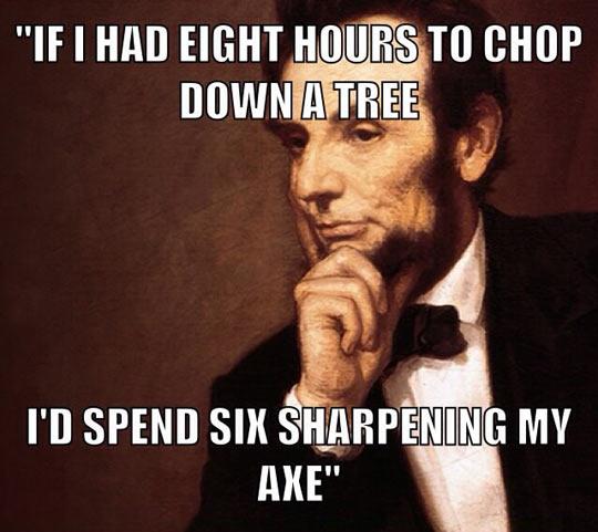 Abe S Secret To Success