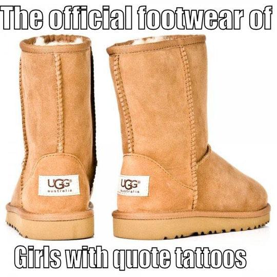 Their Official Footwear