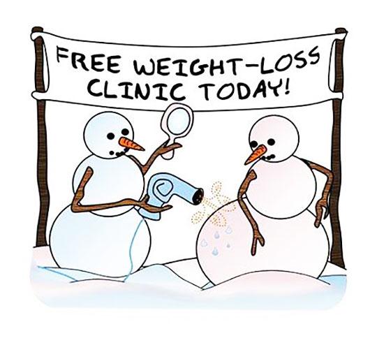 winter weight loss slogans