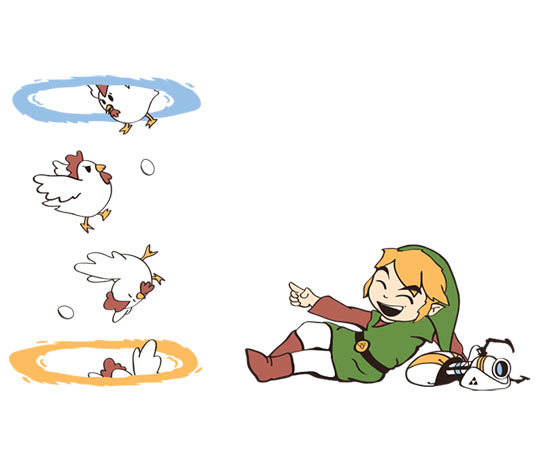 The First Thing Link Would Do With The Portal Weapon