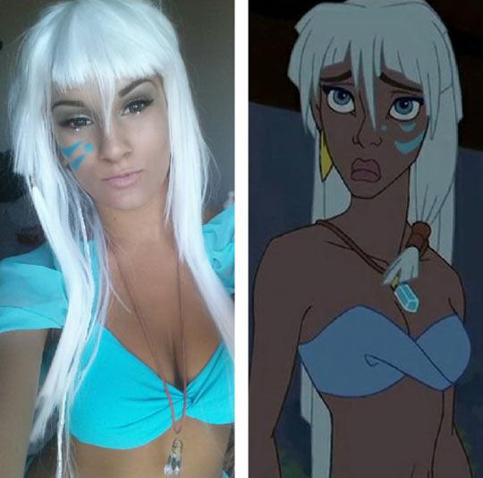 funny-cosplay-Kida-Disney-character
