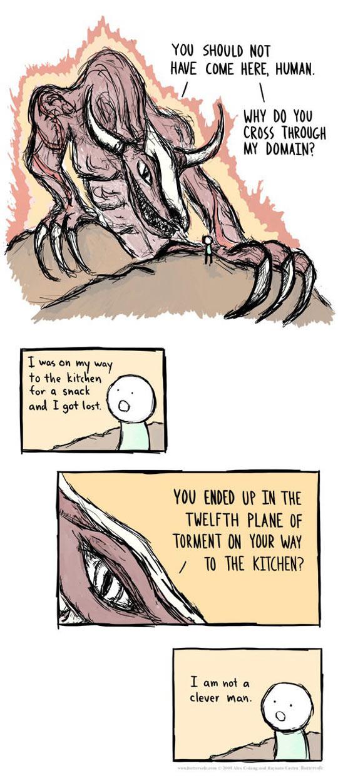 funny-demon-human-lost-domain-comic