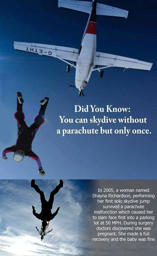 funny-fact-skydive-parachute-pregnant-woman