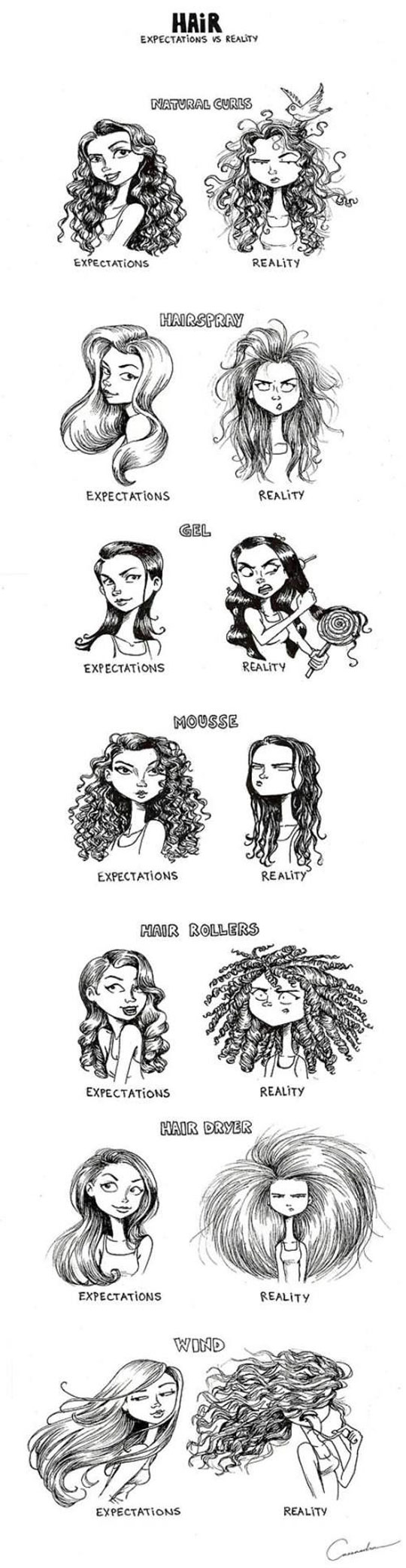 Hairstyle Expectations