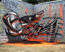 Incredible Real Graffiti