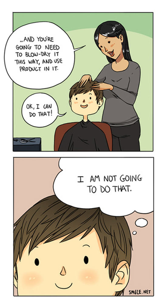 Every Time I Get A Haircut