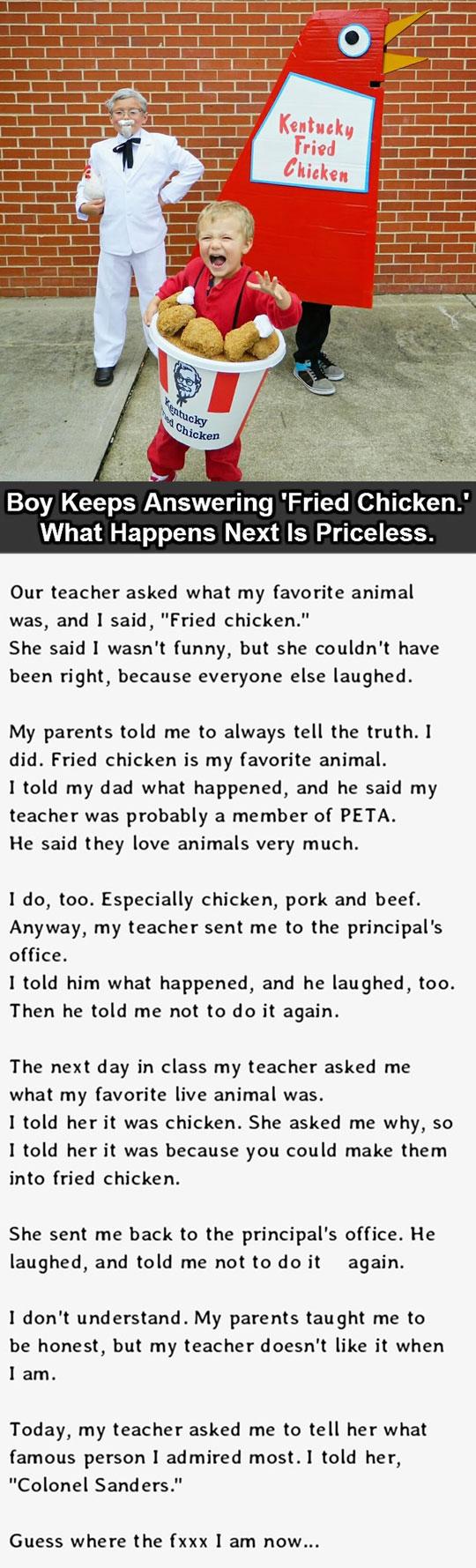 funny-kids-costume-KFC-story-school