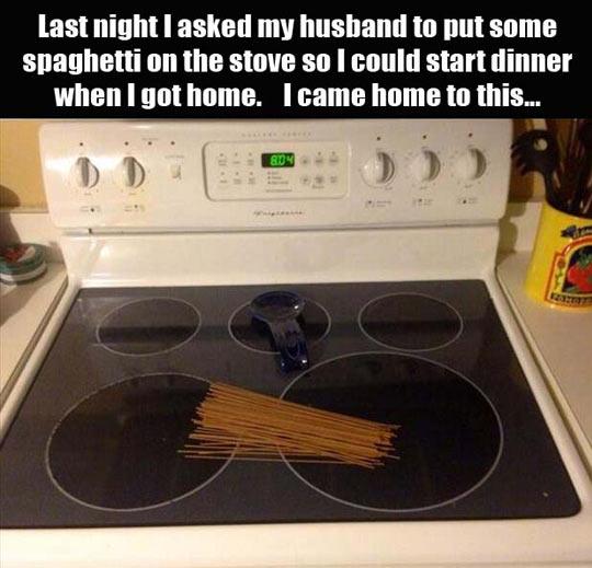 funny-kitchen-spaghetti-stove-husband