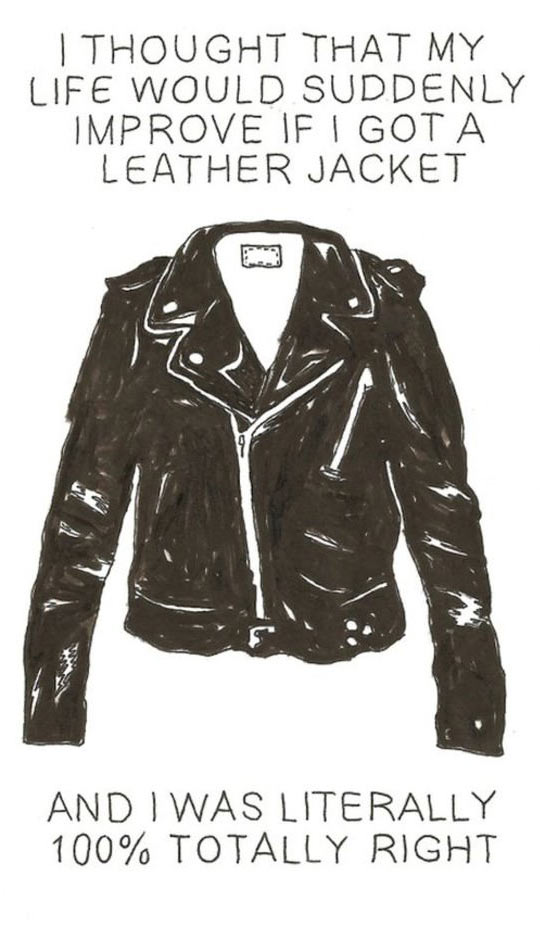 Leather Jackets Make Life Better