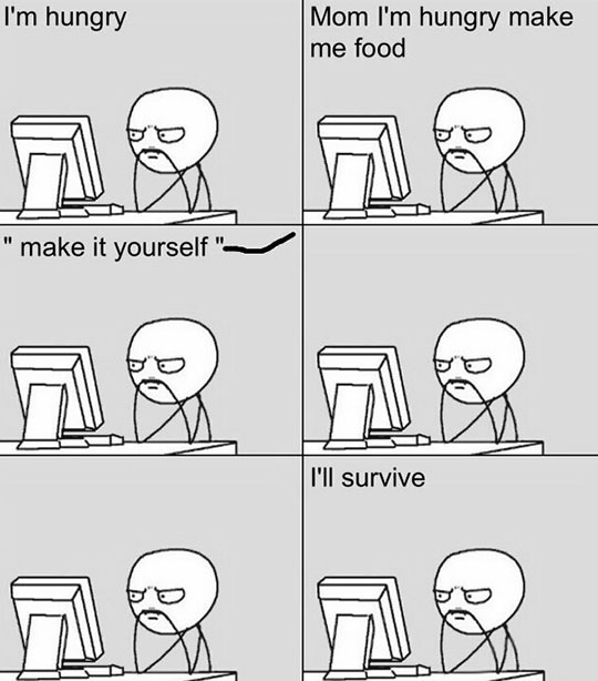 Whenever I Want Some Food