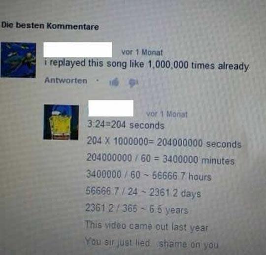 He Did The Math