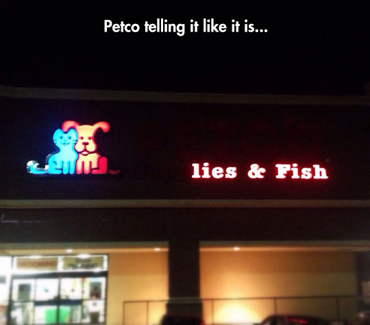 funny-pet-store-LED-sign-lies