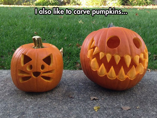 Happily Sinister Pumpkins