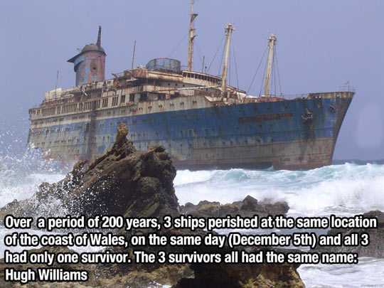 Really Creepy Fact