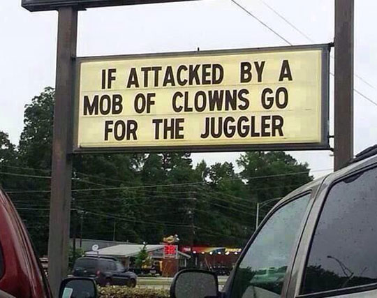 Beware Of Clowns