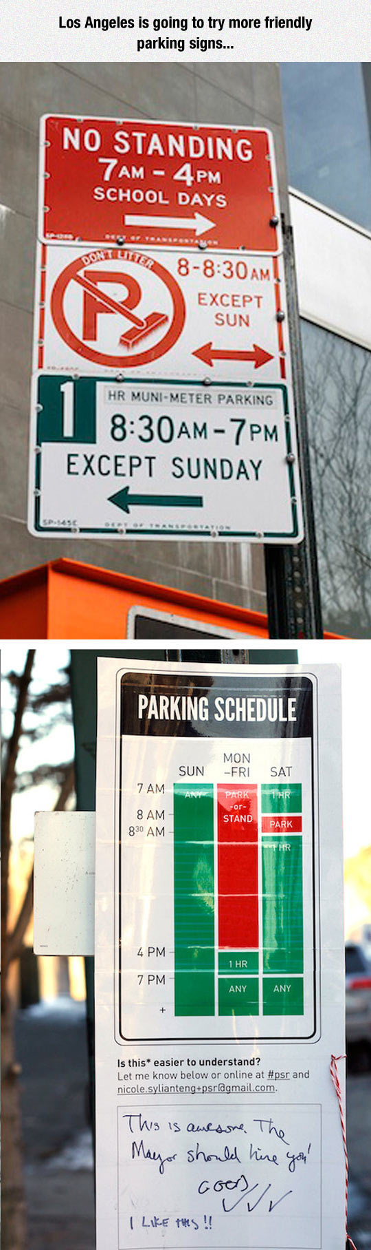 funny-sign-parking-friendly-Los-Angeles