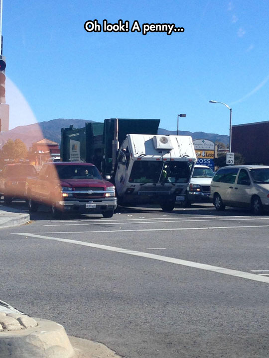 funny-truck-cab-lean-forward-parking