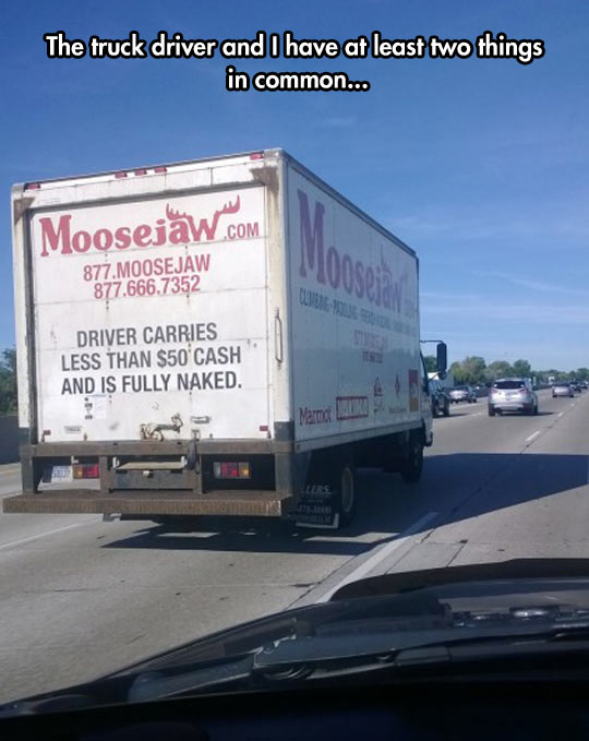 funny-truck-driver-warning-money-clothes
