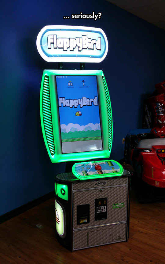 FlappyBird, The Arcade