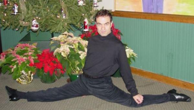 Man-Doing-Splits