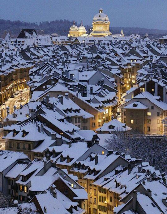 Winter Is Switzerland