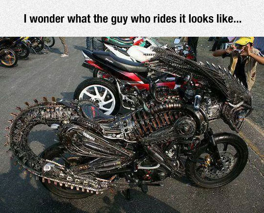 The Predalien Bike