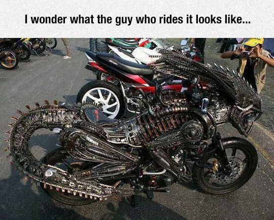 The Predalien Bike