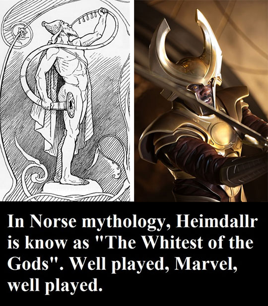 The Truth About One Of The Coolest Thor