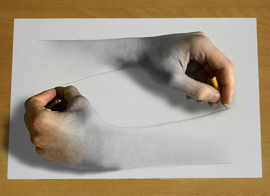 cool-drawing-hand-paper-realistic