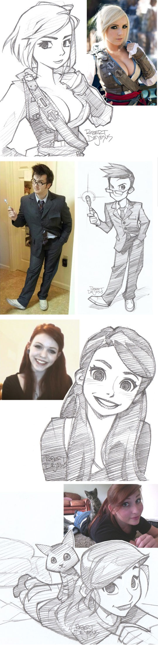 cool-drawing-profile-pictures-cosplay