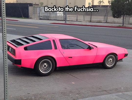 DeLorean, Barbie Edition